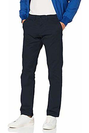 North Sails Men's Chino W/Logo Slim Trouser, Navy 802.0