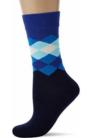 Happy Socks Women's Faded Diamond Sock 630)