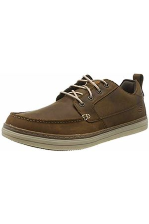 Skechers Men's Heston-SENDO Moccasins, Dark Leather CDB