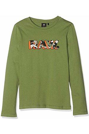 G-Star G-Star Boy's Sp10045 Ls Tee Longsleeve T-Shirt, (Khaki 56)