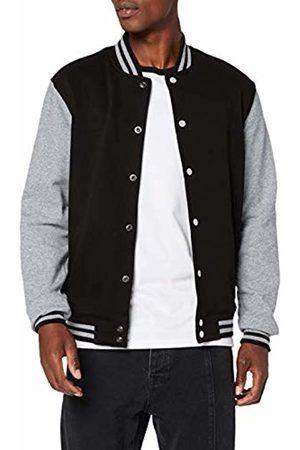 Build Your Brand Men's Sweat College Jacket