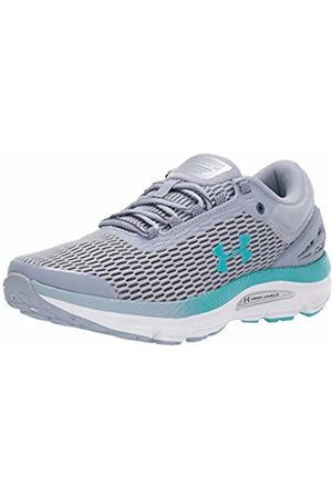 Under Armour Women's Charged Intake 3 Competition Running Shoes, Heights/Downpour Gray/Breathtaking 400