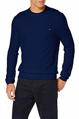 Tommy Hilfiger Men's Mouline Ricecorn Sweater Sweatshirt, ( Quartz Heather 049)