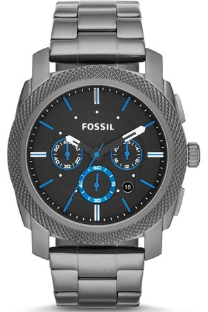 Fossil Machine Chronograph Blue Accents