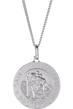 The Love Silver Collection Sterling St Christopher Pendant