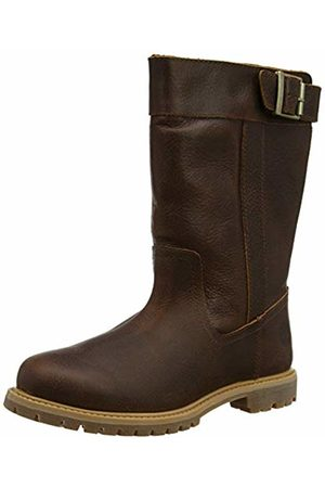 Timberland Women's Nellie Pull On (Wide Fit) Ankle Boots, (Medium Full Grain)