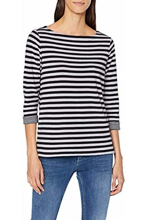s.Oliver Women's 04.899.39.5350 T-Shirt, (Midnight Knit 59x0)