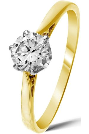 Love Diamond Rings - 9 Carat 50 Point Solitaire Ring
