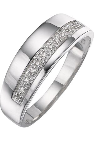 The Love Silver Collection And Diamond Band Ring