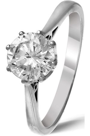 Love Diamond Platinum Certified Diamond 1 Carat Solitaire Ring