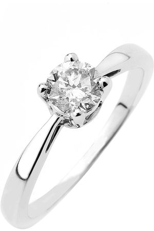 Love Diamond 9Ct Gold 50 Point Diamond Solitaire Ring