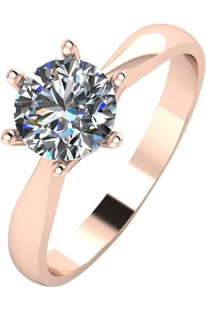 Moissanite 9Ct 1 Carat Solitaire Ring