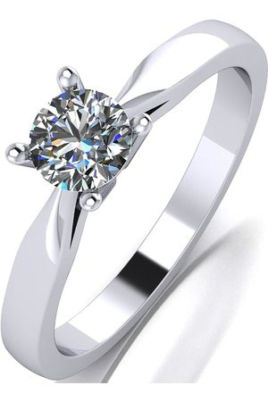Moissanite 1/2Ct Solitaire Ring