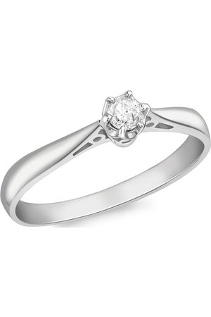 Love GOLD 18Ct 10Pt Diamond Solitaire Ring