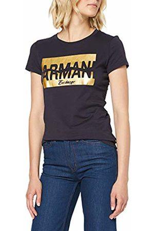 Armani Women's Funny Broken Logo T-Shirt