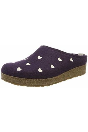 Haflinger Women's Grizzly Couriccini Open Back Slippers