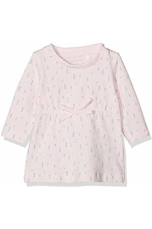 Name it Baby Girls' NBFDELUCIOUS LS Tunic NOOS Dress, Ballerina