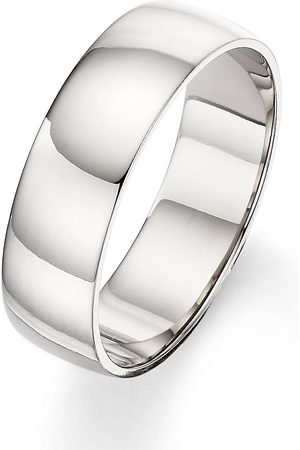 Love GOLD Palladium 6 Mm D-Shape Wedding Band