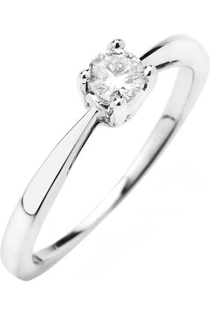 Love Diamond 9Ct Gold 1/3 Carat Diamond Solitaire Engagement Ring