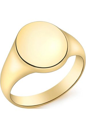 Love GOLD 9Ct Oval Signet Ring