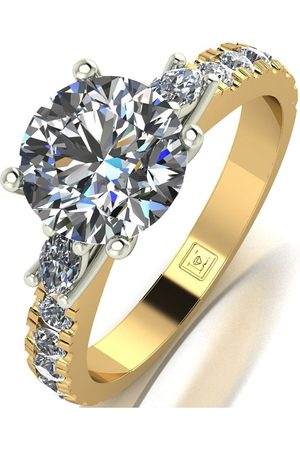 Moissanite 18Ct Gold Lady Lynsey 2Ct Total Solitaire Ring