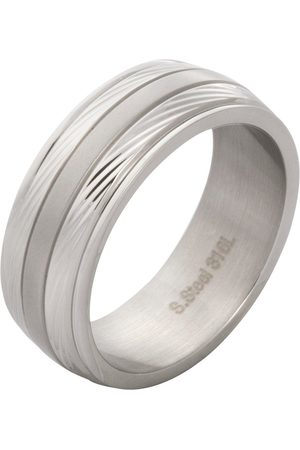 Vero Moda Very Ip & Stainless Steel Mens Ring