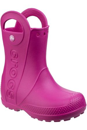Crocs Girls Handle It Wellington Boots