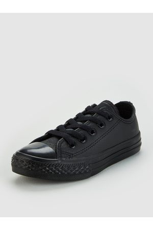 Converse Chuck Taylor All Star Junior Leather Ox Trainers