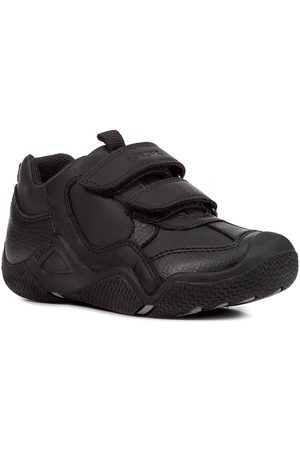 Geox Kids School Shoes - Wader Leather Strap School Shoes