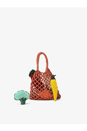 Zara Tote bag with vegetable details