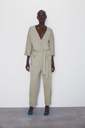 f68f148fda Striped rustic jumpsuit