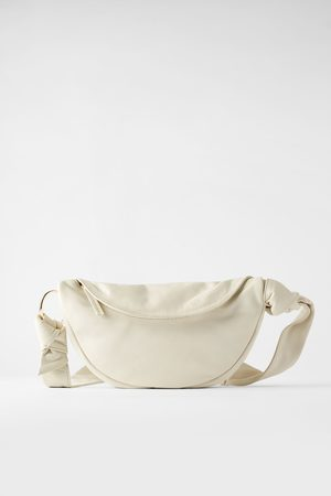 Zara Women Shoulder Bags - Leather crossbody belt bag
