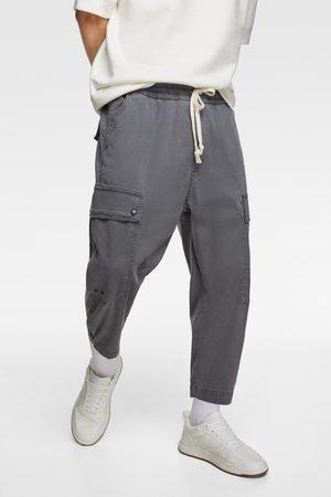 Zara Cargo bermuda shorts