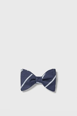 Zara Men Bow Ties - Striped jacquard bow tie