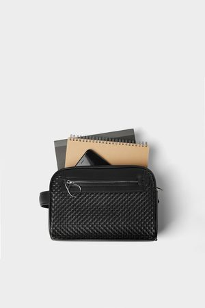 Zara Braided toiletry bag