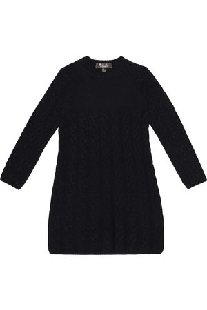 Loro Piana Cable-knit cashmere dress