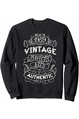 CuteComfy 1959 Birthday Gifts For Men Women 60th Birthday Signboard Sweatshirt