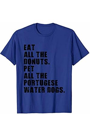 Swesly Dog Eat All The Donuts Pet All The Portugese Water Dogs ADB096h T-Shirt