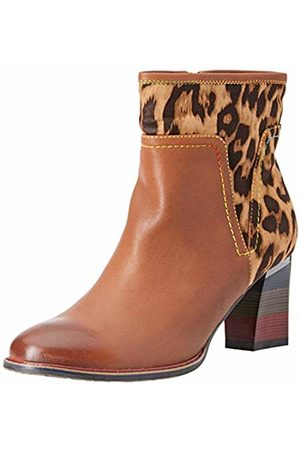 LAURA VITA Women's Geceko 01 Ankle Boots, Camel