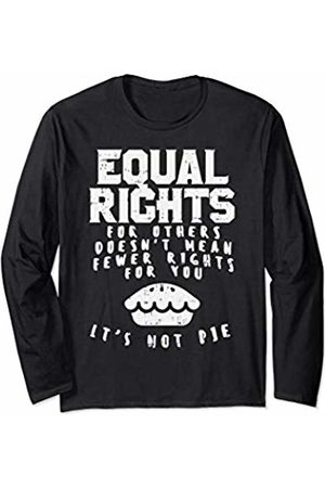 BoredKoalas Equal Rights Pie Feminist Strong Womens March Gift Long Sleeve T-Shirt