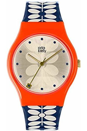 Orla Kiely Unisex Adult Quartz Watch
