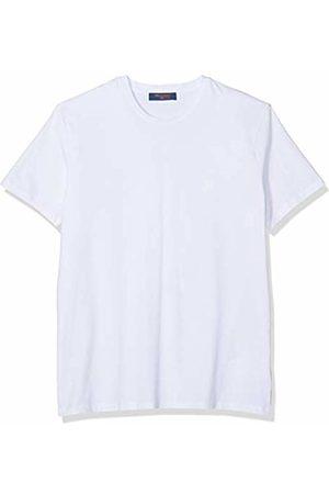 Trussardi Jeans Men's T-Shirt Jersey Stretch Regular Kniited Tank Top, ( W001)
