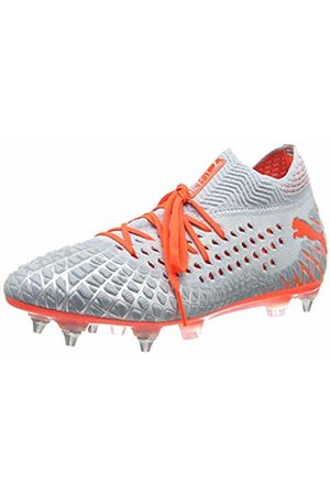 Puma Unisex Adults' Future 4.1 Netfit MxSG Football Boots, (Glacial -Nrgy High Risk 01)