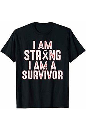 That's Life Brand I AM A STRONG I AM A SURVIVOR T SHIRT