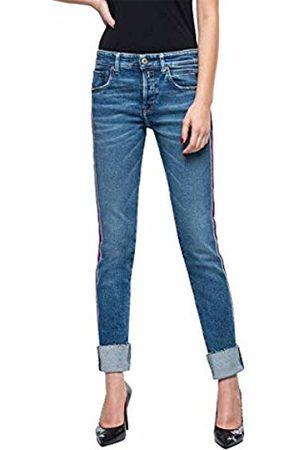 Replay Women's Heter Boyfriend Jeans, (Medium 9)