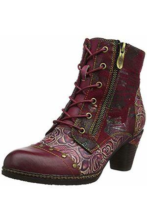 LAURA VITA Women's Alcizeeo 12 Ankle Boots, Wine