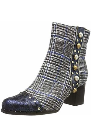 LAURA VITA Women's Emcilieo 03 Ankle Boots, Bleu
