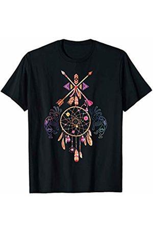 EDDArt Native American Pueblo Kokopelli Dreamcatcher 1 Fan Fun T-Shirt