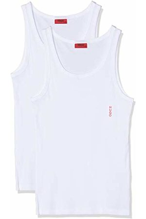 HUGO BOSS Men's Tank Top Twin Pack Vest, ( 100)