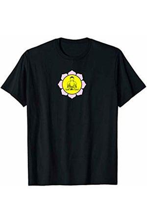 Buy Cool Shirts Buddha in Lotus Flower T-Shirt